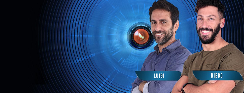 Chi vuoi eliminare tra Luigi e Diego?