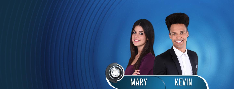 Settima coppia ufficiale di GF14: Mary e Kevin