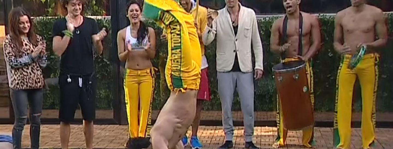 Il ritorno del Brasile: Freeze con capoeira