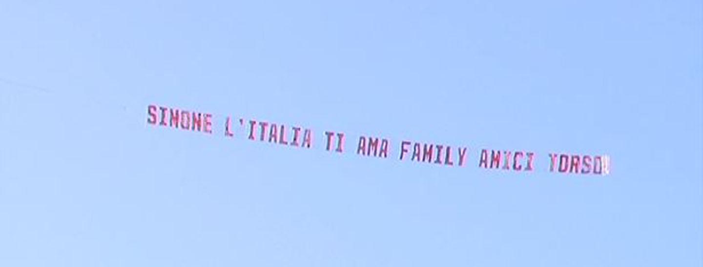 Un messaggio per Simone