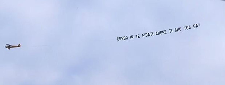 Secondo aereo... è per Manfredi!