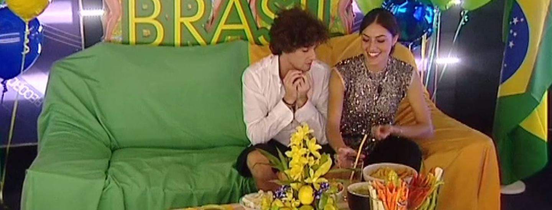 Aperitivo brasiliano: Manfredi e Desiree