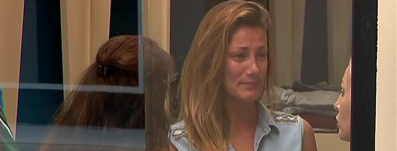 Valentina in lacrime