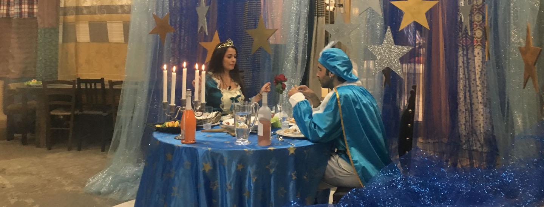Buona cena principessa!
