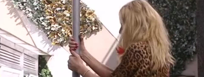 La pole dance di Valeria