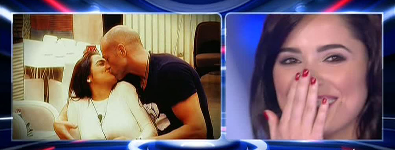 Il flirt tra Alessia e Stefano