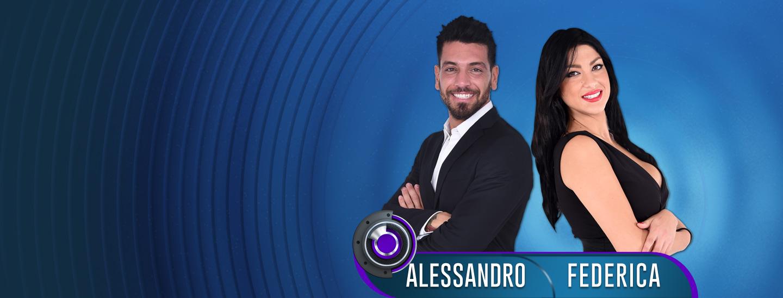 Ottava coppia ufficiale di GF14: Alessandro e Federica