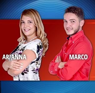 Arianna  e Marco: giovedì sera entreranno in casa