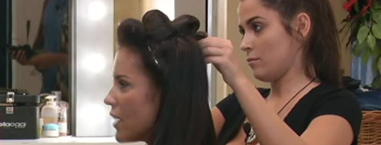 """Alessia """"parrucchiera"""" dei Vip"""