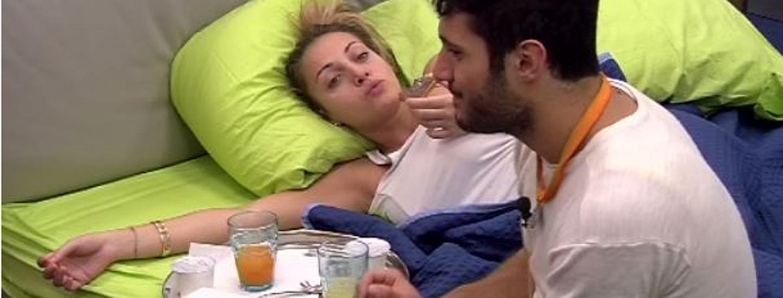 Colazione a letto per Rossella