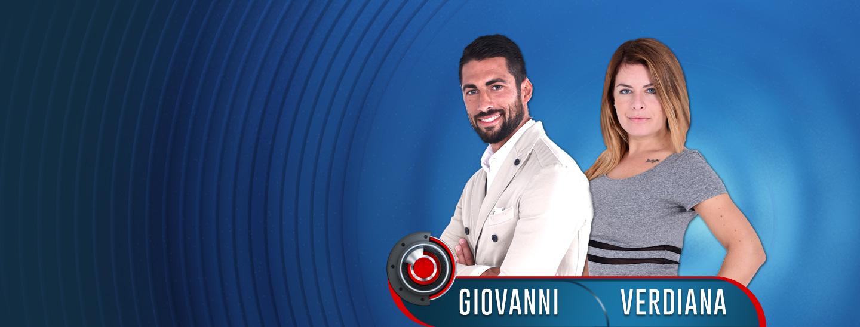 Prima coppia ufficiale di GF14: Giovanni e Verdiana