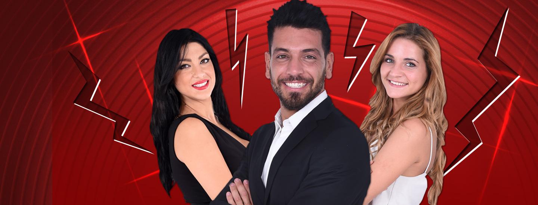 I due ex Alessandro e Lidia a confronto, ma c'è anche Federica...