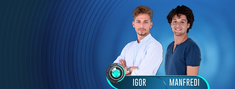 Sesta coppia ufficiale di GF14: Manfredi e Igor