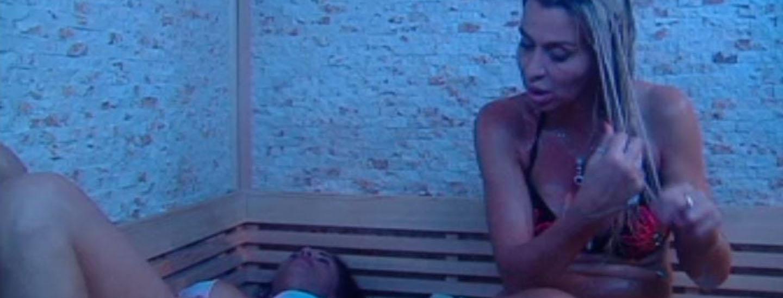 Confidenze in sauna