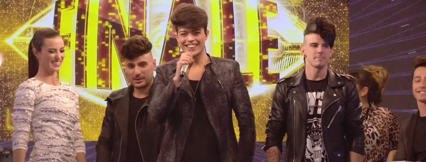 I The Kolors alla finale di GF14