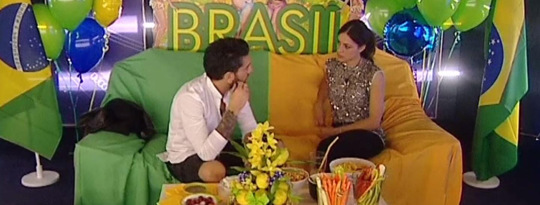 Aperitivo brasiliano: Alessandro e Desiree