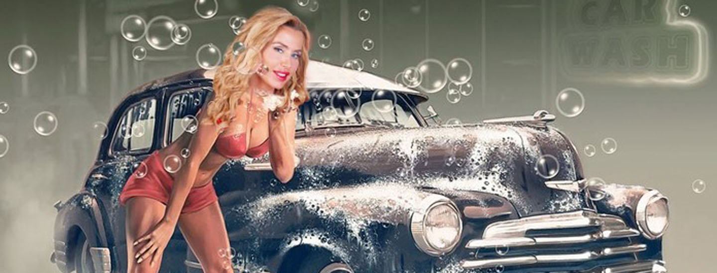 Apre il Car Wash di GF Vip
