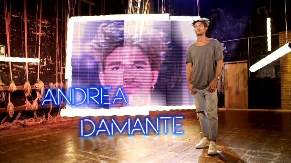 Andrea Damante si presenta